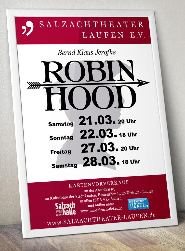 Salzachtheater Laufen - Robin Hood - Plakat